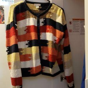 Super cute vintage button up sweater